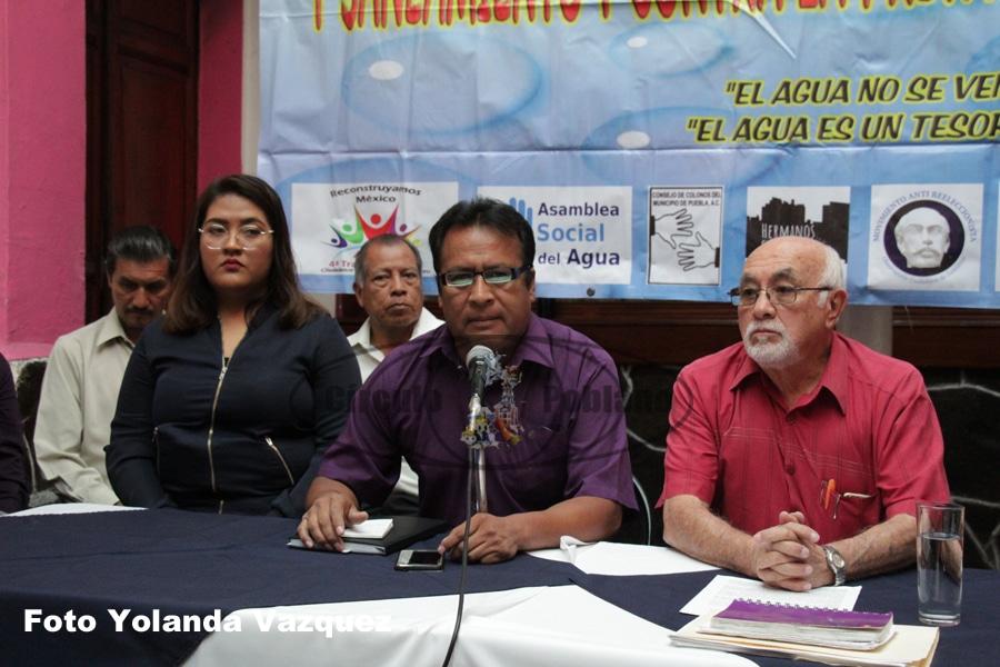 Ley del Agua que plantea la Comisión de Derechos Humanos y Cambio Climático del Congreso local defiendelos derechos humanos