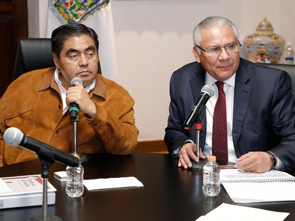 Trabaja Gobierno del Estado en el desmantelamiento de grupos delictivos, afirma Barbosa Huerta