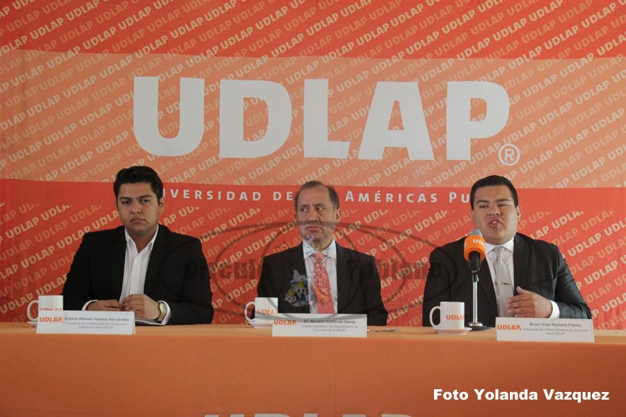 UDLAP llevara a cabo Congreso Punto de Quiebre Economía Banca e Inversiones para los días 12 y 13 de marzo