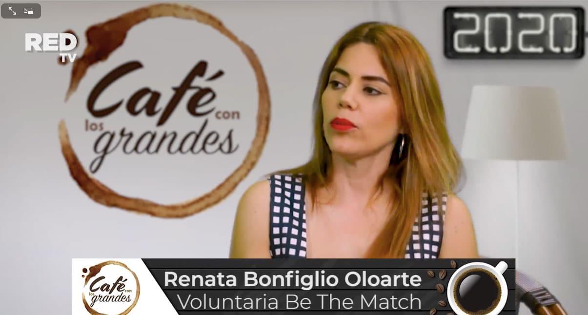 Café con los grandes: Renata Bonfiglio Oloarte