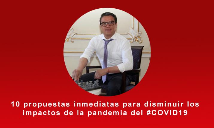 Gerardo islas propone paquete de medidas para disminuir los impactos de la pandemia del #COVID19