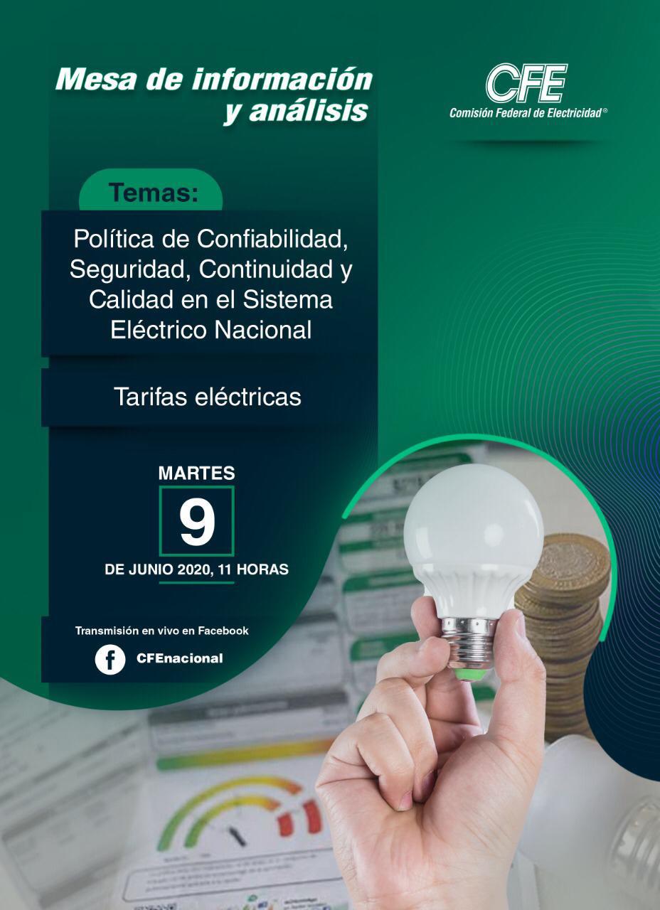 Mesa de Información y Análisis CFE
