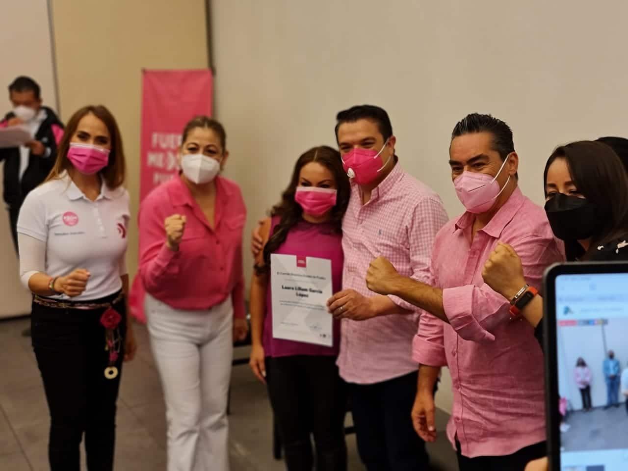 Toma de Protesta de las Secretarias de Mujeres regionales y municipales de Fuerza X México