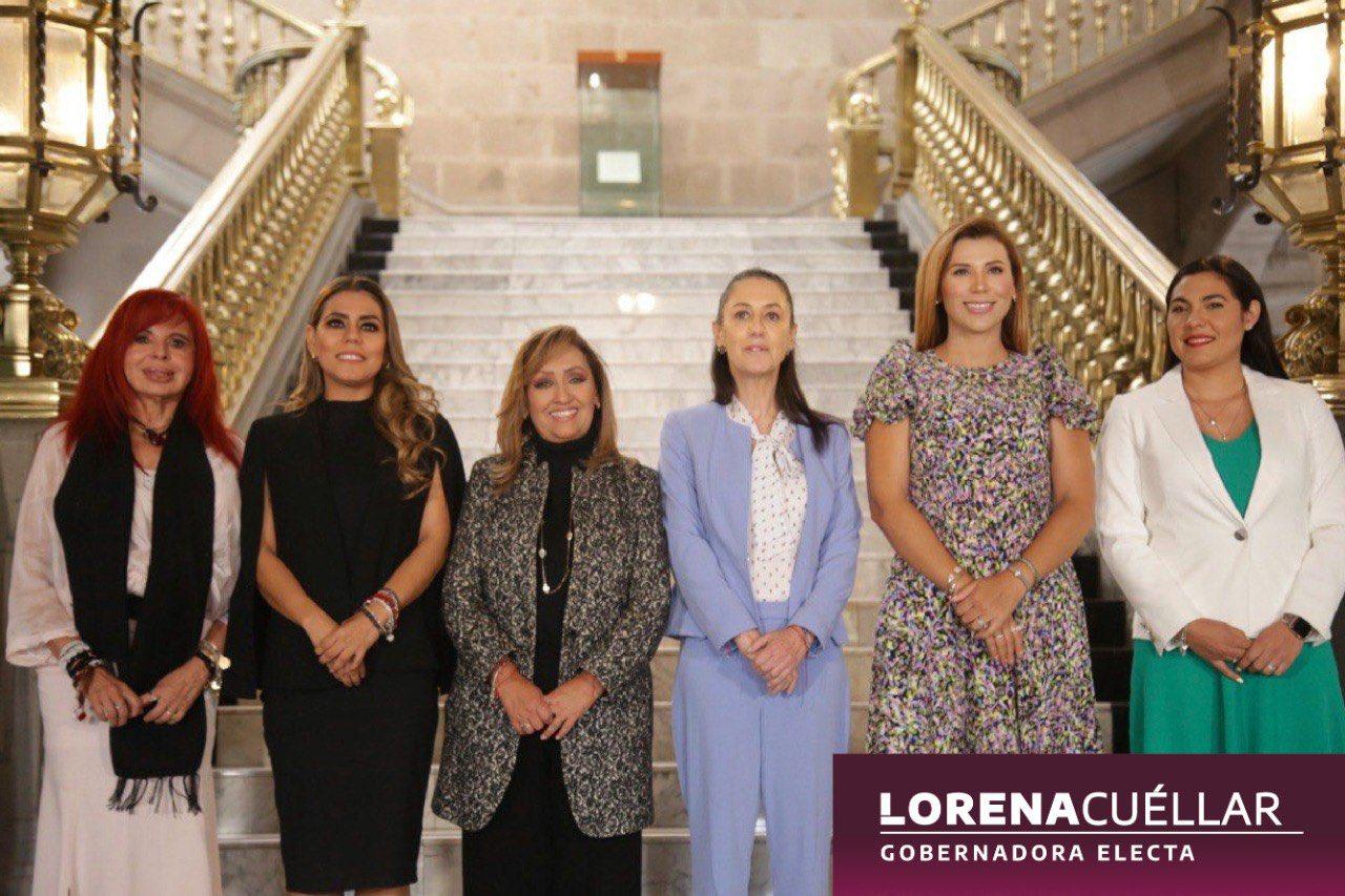 Lorena Cuéllar se Reúne con la Jefa de Gobierno Claudia Shein en CMDX