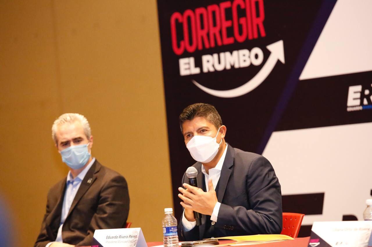 EDUARDO RIVERA PÉREZ AGRUPA SECTORES SOCIALES EN SEGUNDA SESIÓN PLENARIA DE LA COMISIÓN PERMANENTE POR PUEBLA
