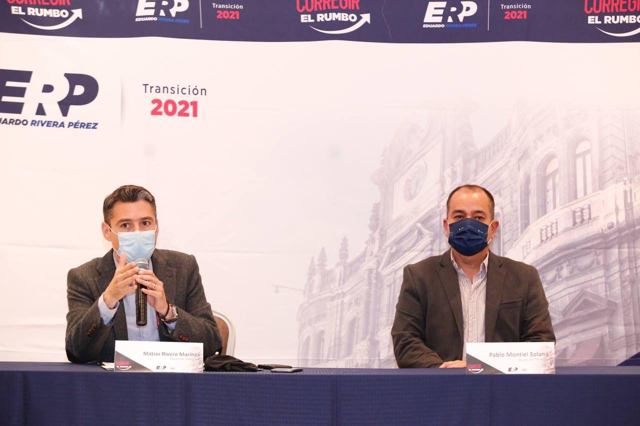 EQUIPO DE TRANSICIÓN DE EDUARDO RIVERA PÉREZ PRESENTA BALANCE DE REUNIONES DEL PERIODO DE TRANSICIÓN