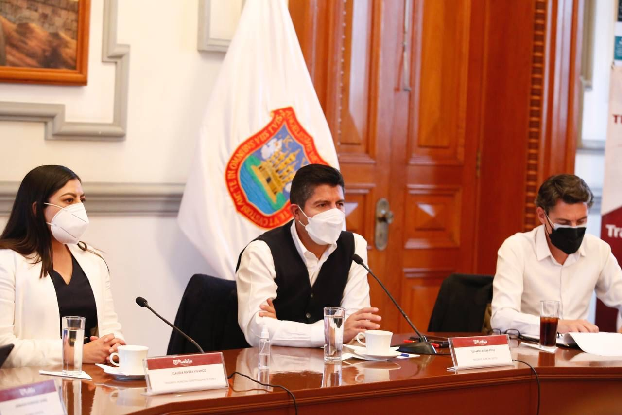 SE DESARROLLA CUARTA REUNIÓN DE TRANSICIÓN ENTRE EDUARDO RIVERA PÉREZ Y CLAUDIA RIVERA VIVANCO