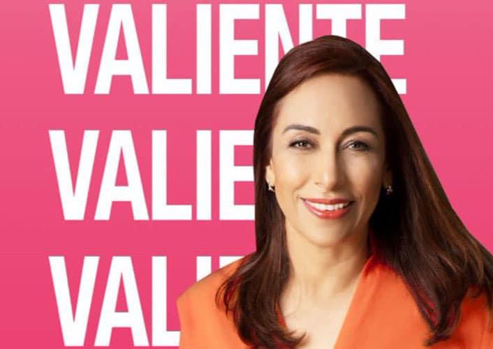 Adriana Dávila fuerte aspirante a la Presidencia Nacional del PAN hoy en Puebla