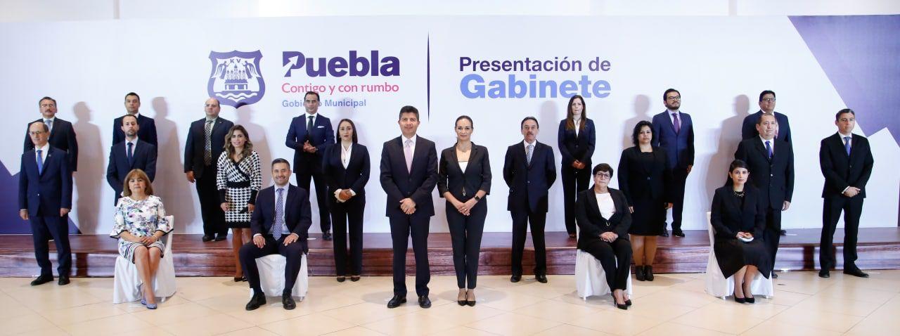 PRESENTA EDUARDO RIVERA PÉREZ GABINETE PLURAL Y EXPERIMENTADO